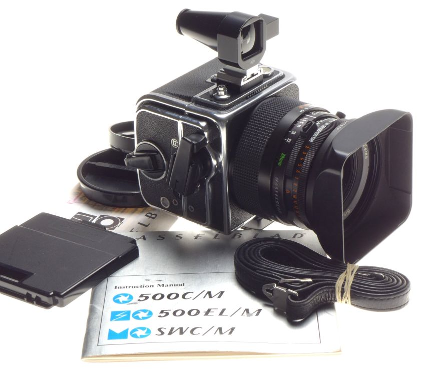 Details about wide angle Hasselblad SWC/M f=38mm Zeiss Biogon 4 5/38mm T*  finder Hood strap