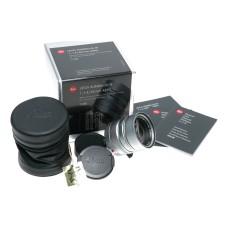 Leica Summilux-M 50mm f/1.4 6 bit silver 11892 for M240 M10-R 1.4/50