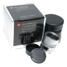 11892 Leica Summilux-M 50mm f/1.4 6 bit silver for M240 M10-P 1:1.4/50