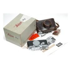 Leica IIIg camera body 35mm film original box papers M39 LTM rangefinder