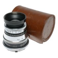 Agilux 16cm f/5.5 Telephoto Croydon medium format film camera lens