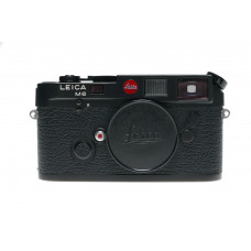 LEICA M6 black chrome rangefinder film camera Mint boxed strap papers