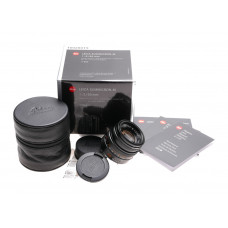 New Leica Summicron-M 1:2/50mm 6-bit E39 box lens digital f2 11826 f50