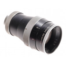 Bolex Yvar 1:2.5 f=75mm AR vintage C-mount camera lens H16 cine