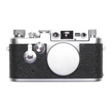 Leica IIIG 3g 35mm film camera vintage film chrome body