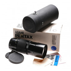 PENTAX 6x7 camera lens 4/400 SMC Takumar f=400mm f4 boxed Mint-