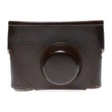 Ever ready Leica leather case with neck strap Leitz Wezlar original