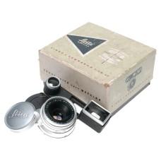 Leica Summaron 1:2.8/35mm lens w/goggles for M3 box caps wonderful SIMWO Leitz