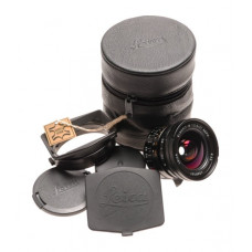 Leica Elmarit-M 2.8/21mm ASPH. lens 11135 wide angle 6-Bit caps hood f21