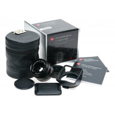 11604 Leica Summicron-M 28 f/2 Asph. Black 2/28mm f2 6-Bit Lens M10-R