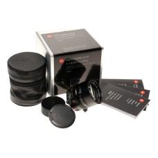 Summilux-M 1:1.4/50mm ASPH. 6-bit Mint Leica lens box papers 11891 f=50mm black