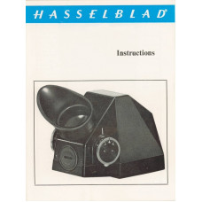 Hasselblad vintage prisim finder user instruction manual