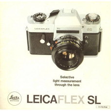 Leitz leicaflex sl camera information brochure data