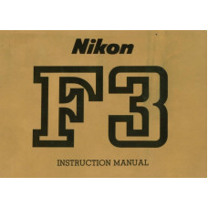Nikon f3 camera instruction manual detailed 46 pages