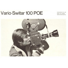 Vario switar 100 poe instruction manual
