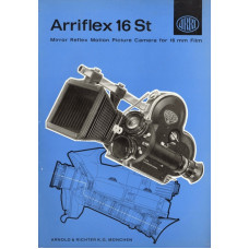 Arriflex arri st16 mirror reflex motion picture camera