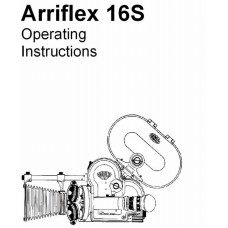 Arriflex 16s movie camera operating instructions manual