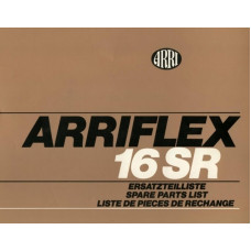 Arriflex 16 sr spare parts list manual ping