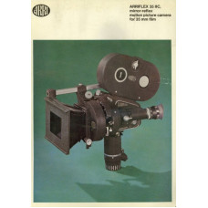 Arriflex 35iic mirror reflex motion picture camera info