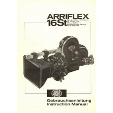 Arriflex 16st mirror reflex camera instruction manual