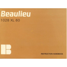 Beaulieu 1028 xl 60 camera instruction handbook manual