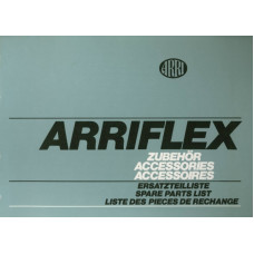 Arriflex accessories spare parts list explosion diagram
