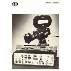 Arriflex arivox-tandberg sound recorder instructions