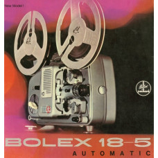 Bolex new model 18-5 automatic projector brochure info