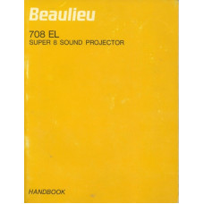 Beaulieu 708 el super 8 sound projector handbook manual