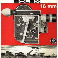 Bolex h16 reflex camera brochure information data info