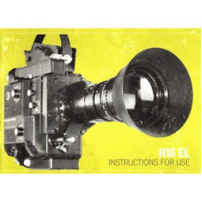 Bolex h16 el reflex movie camera instructions for use