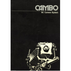 Cambo camera systems information sheet brochure