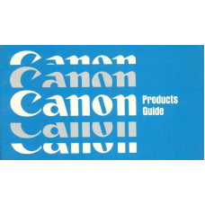 Canon products user instruction guide