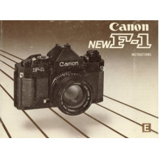 Canon ae finder new f1 instruction manual 35mm camera
