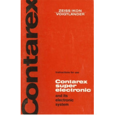 Zeiss contarex super electronic instruction manual rare