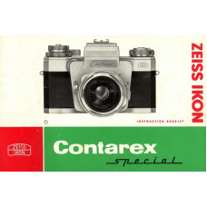 Zeiss contarex special instruction manual rare