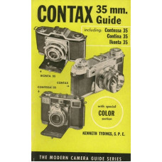 Contax 35mm camera guide contessa contina ikonta book
