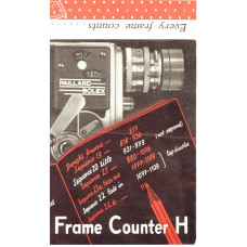 Frame counter h user instruction manual