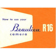 Beaulieu r16 reflex camera instructions book manual