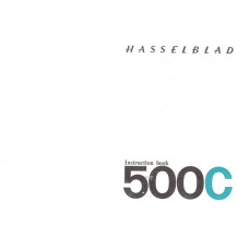 Hasselblad 500c user instruction manual