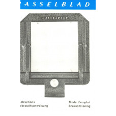Hasselblad vintage copy holder user instruction manual