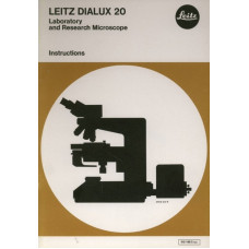 Leitz dialux 20 research microscope instruction only
