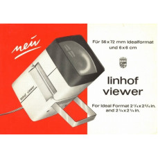 Linhof viewer ideal format 56x72 and 6x6