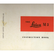Leica camera m3 instruction manual  only