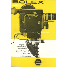 Bolex h16 electric h hand grip instructions user manual