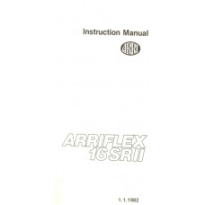 Arriflex 16srii sr2 instructions manual