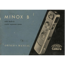 Minox b camera instruction manual ping only