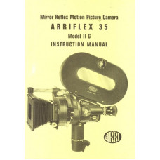 Arriflex 35 model iic reflex mirror camera instructions