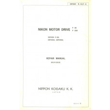 Nikon kogaku motor drive f36 f250 repair manual