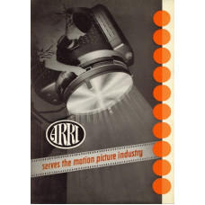 Arriflex serves the motion picture industry brochure